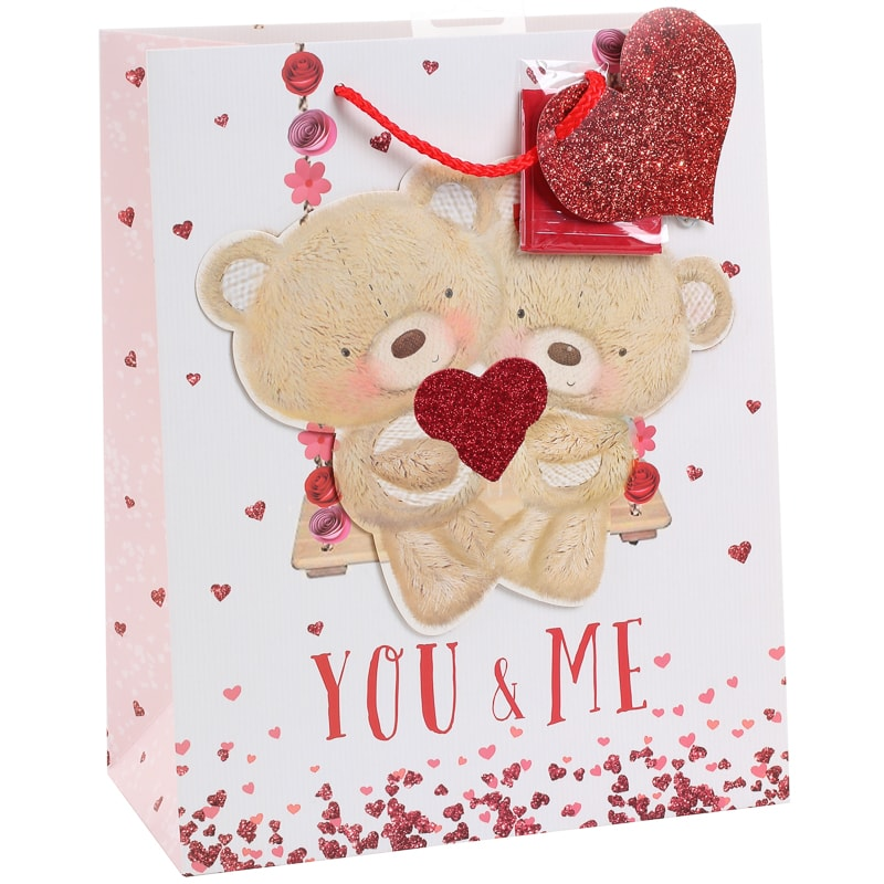 Valentine S Day Gift Bag You Me Gift Bags B M