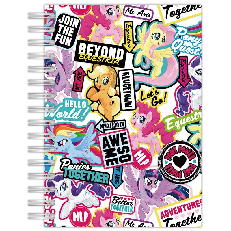 My Little Pony A5 Notebook Back To School Stationery B Amp M