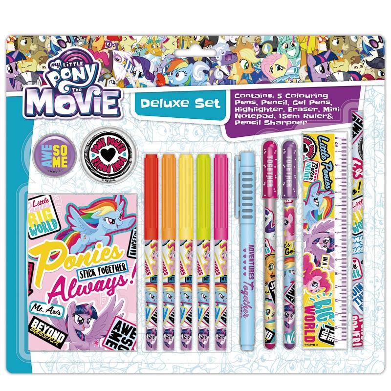 My Little Pony Super Stationery Set 13pc Back To School