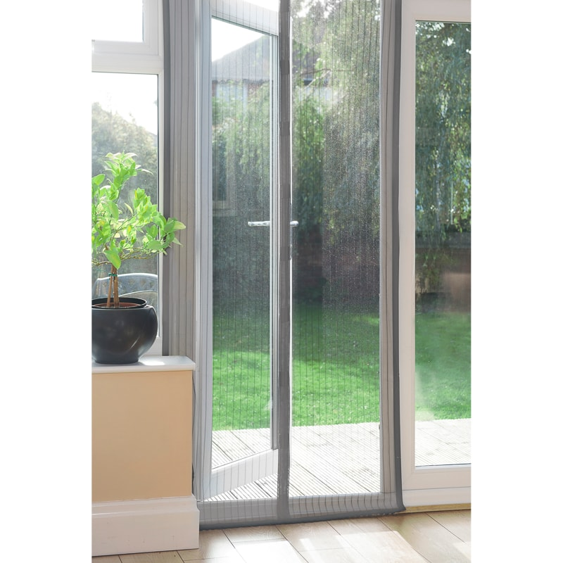 Grey Storm Door