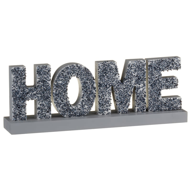 Decorative Wooden Block - Home