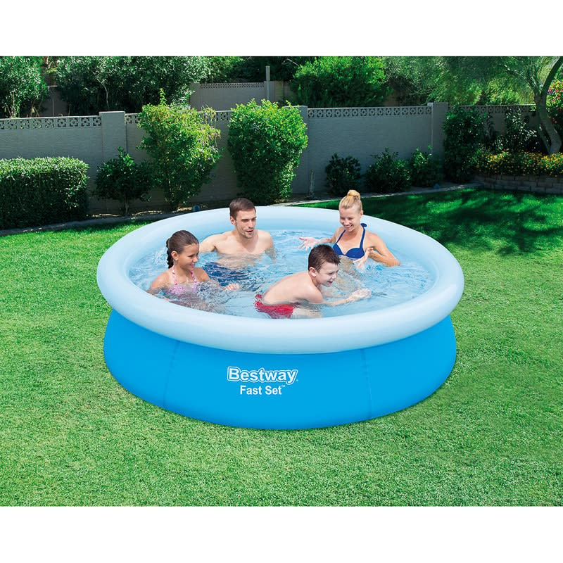 bestway fast set pool garden paddling pools b m. Black Bedroom Furniture Sets. Home Design Ideas