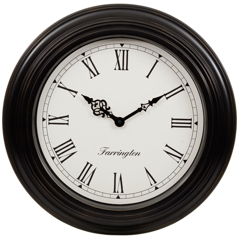 Large wall clock home accessories clocks bm stores for Large wall clock uk