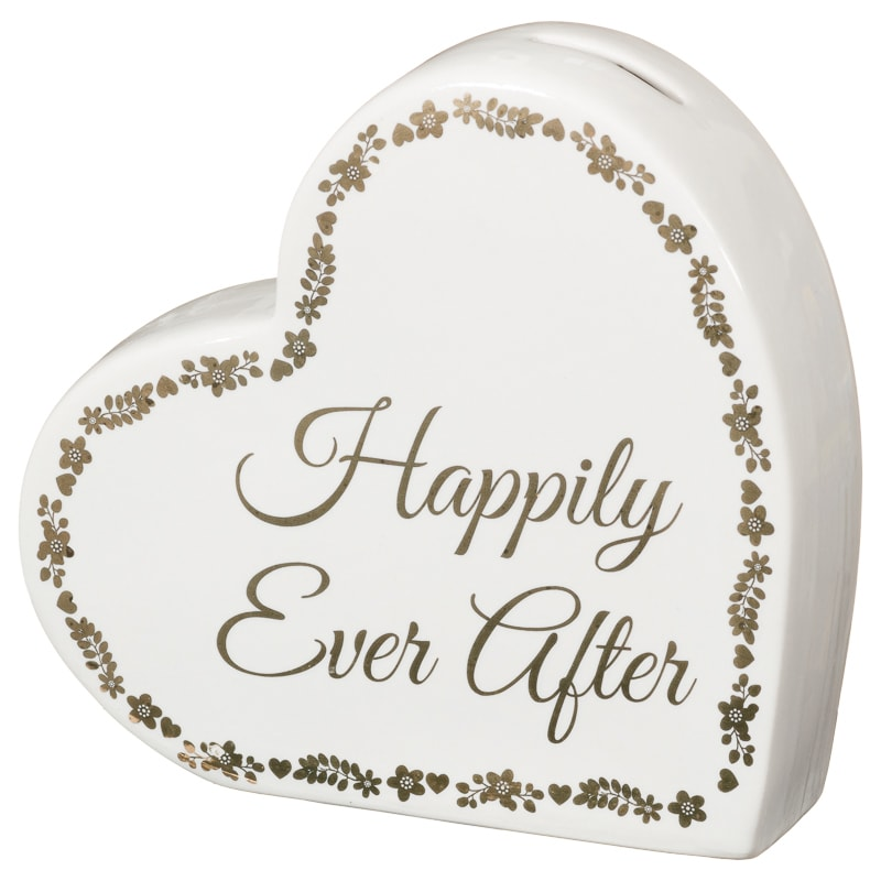 Wedding Money Box - Happily Ever After