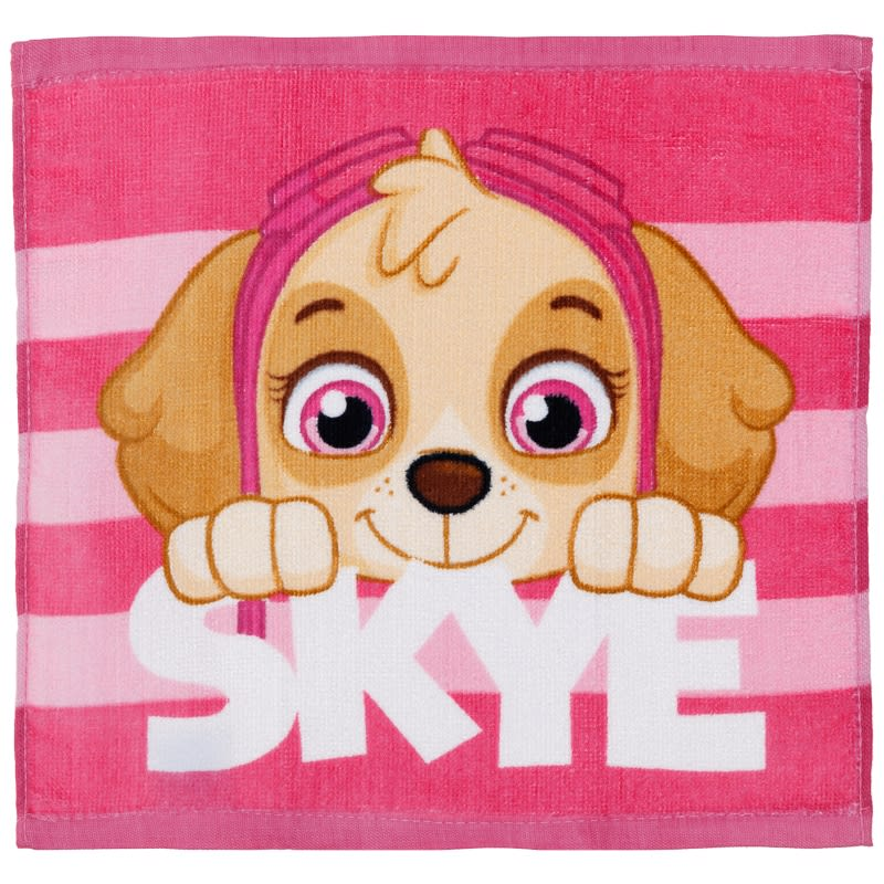 Paw Patrol Face Cloth - Skye