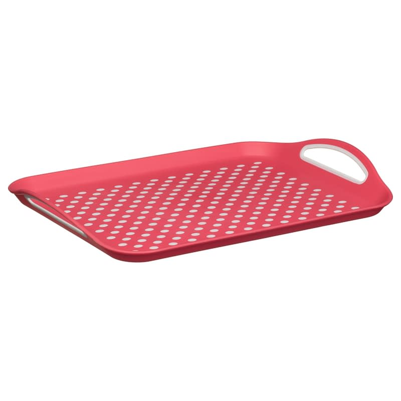 Anti-Slip Serving Tray - Pink