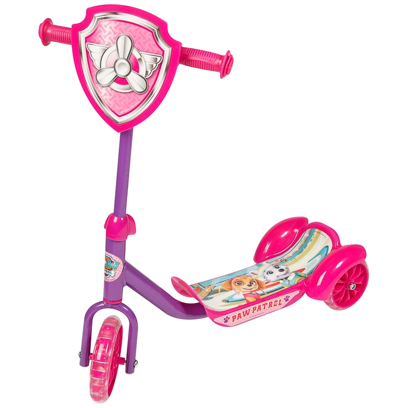 Paw Patrol 3 Wheel Scooter Scooters B Amp M