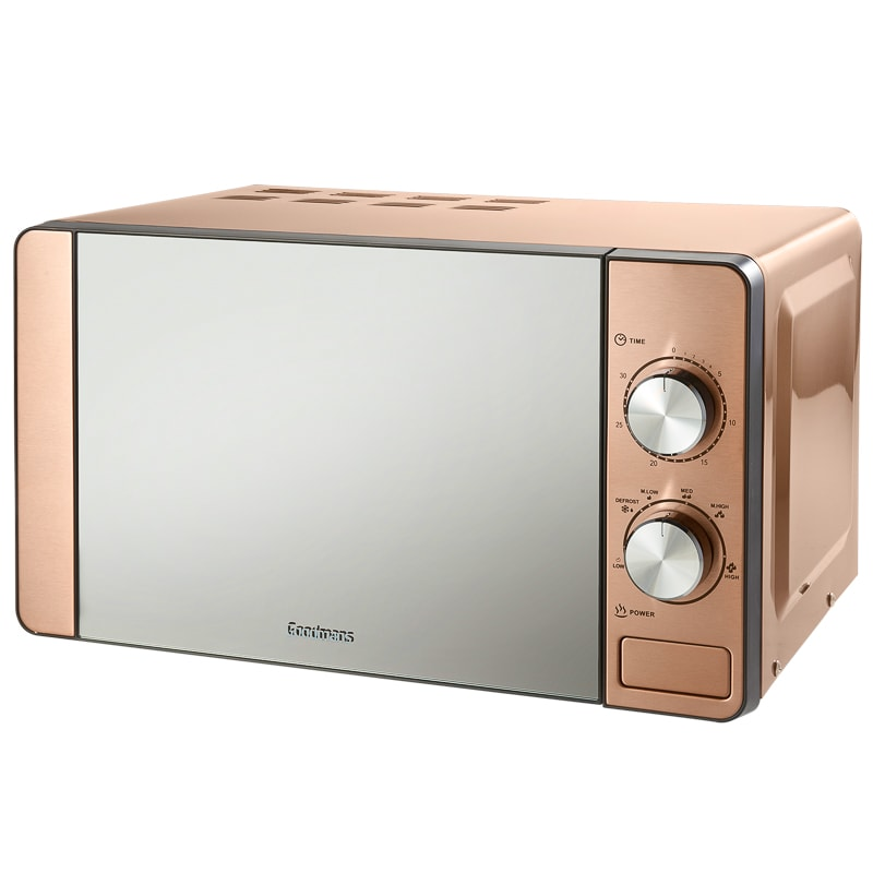 Goodmans Copper Microwave Kitchen Appliances B Amp M