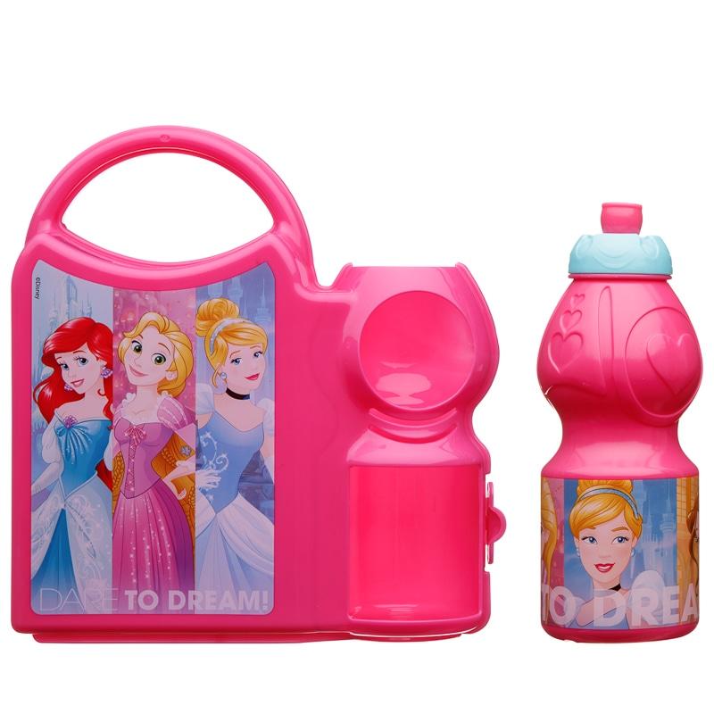 Disney Girls Combo Lunch Box Back To School B Amp M