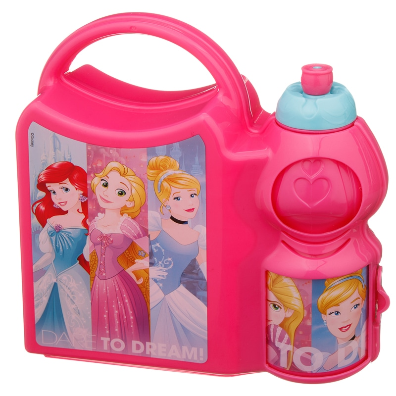 Disney Girls Combo Lunch Box Back To School B Amp M