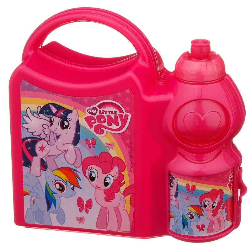 My Little Pony Girls Combo Lunch Box Back To School B Amp M