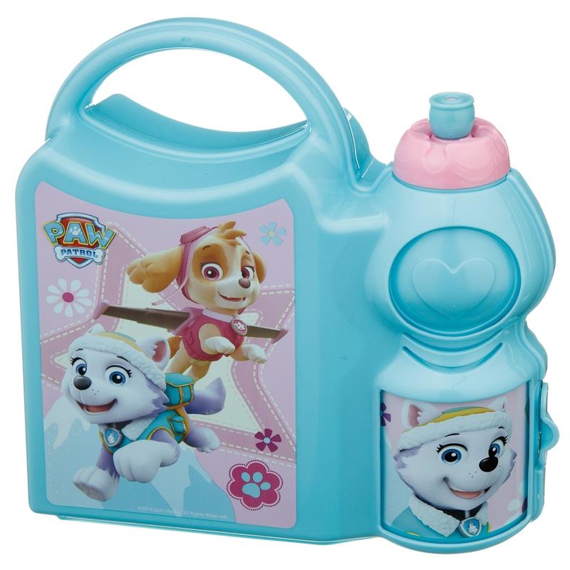 Paw Patrol Girls Combo Lunch Box Back To School B Amp M