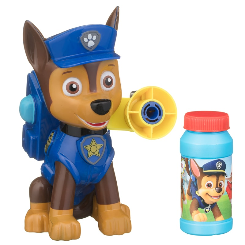 Paw Patrol Bubble Machine Chase Outdoor Toys B Amp M