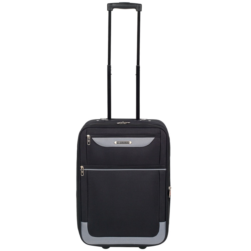 d552bed82a75 Sovereign Suitcase 55cm - Black