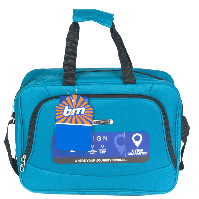 Sovereign Cabin Bag 30cm Teal Luggage B Amp M