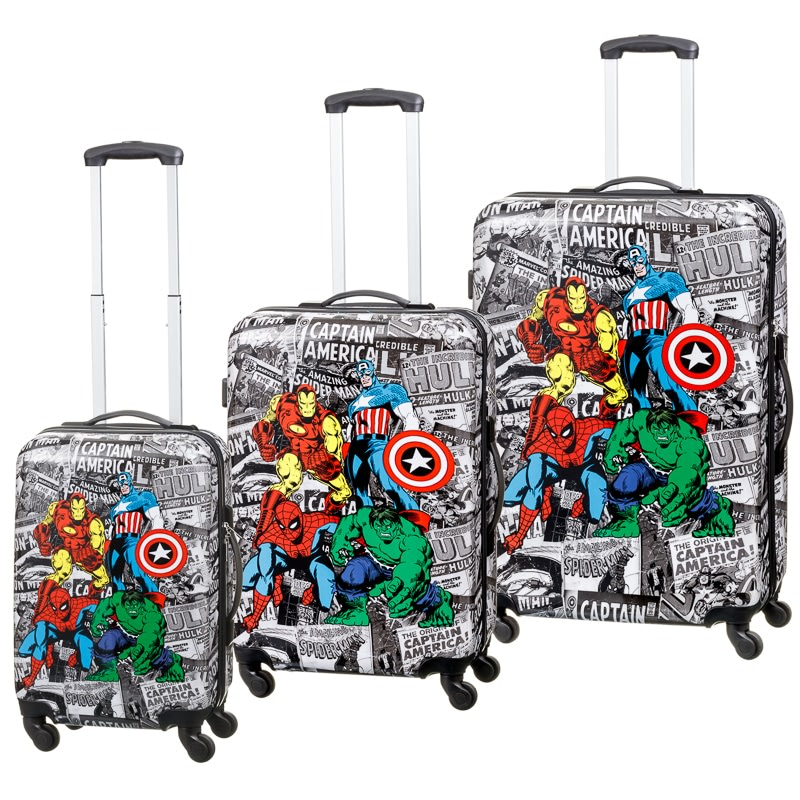 Marvel Comics Suitcase 56cm Luggage B Amp M