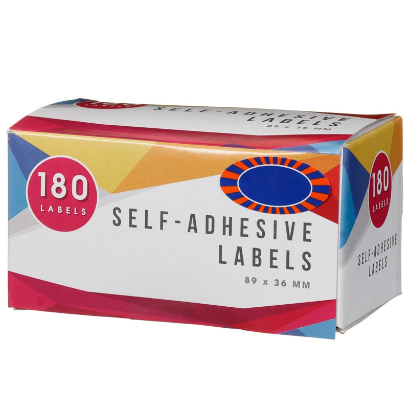 Self Adhesive Labels 180pk