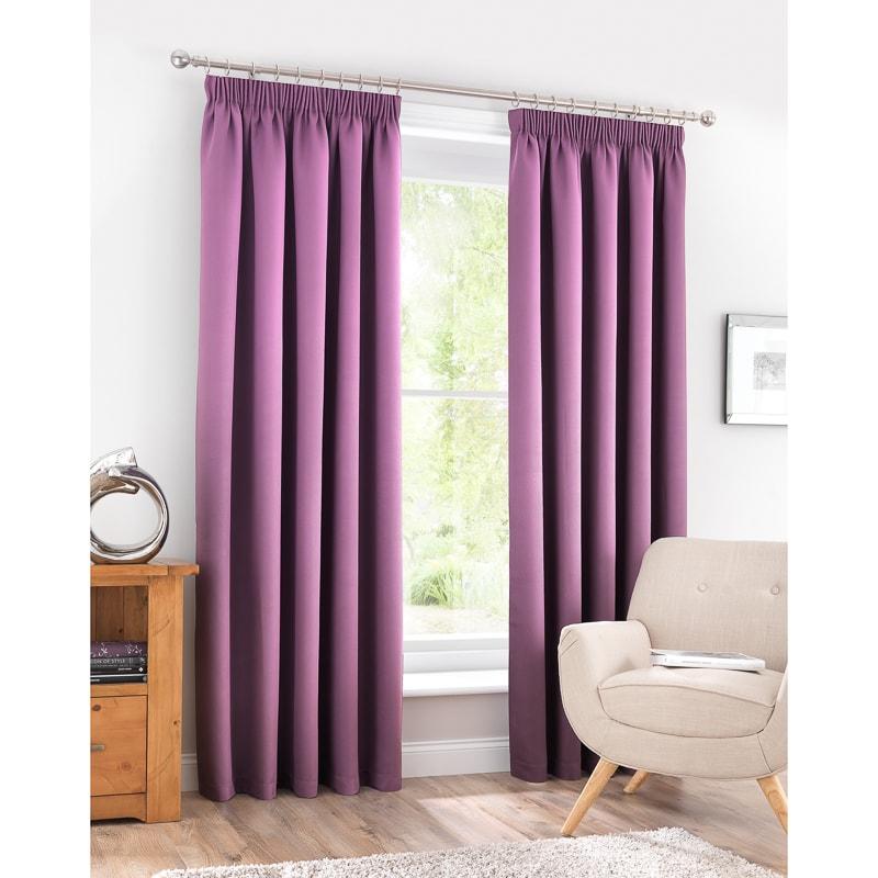 b u0026m valencia textured premium blackout eyelet curtain 66 x