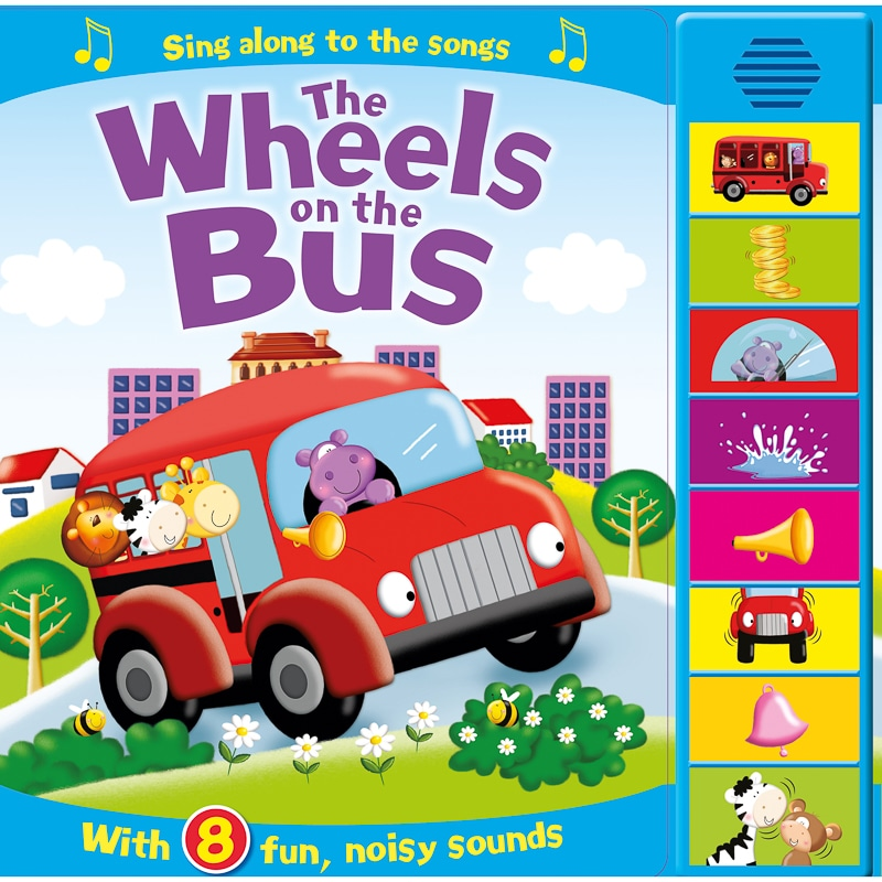 Super Sounds Book - Wheels On The Bus