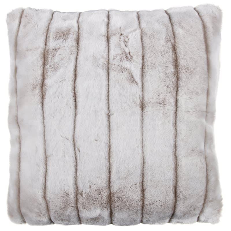 body black mink pillow faux fur pillows s case cover