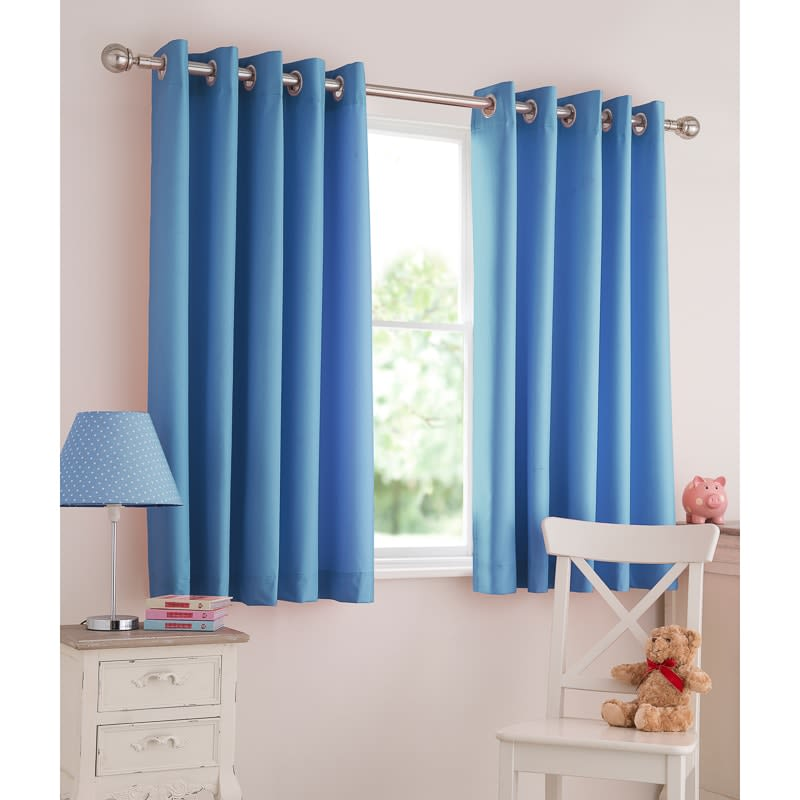 Silentnight Kids Light Reducing Eyelet Curtains Curtains