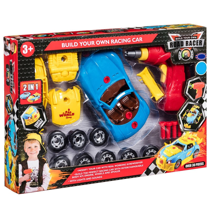 Build Your Own Car Kit >> Build Your Own Racing Car Toys Cars Craft Design