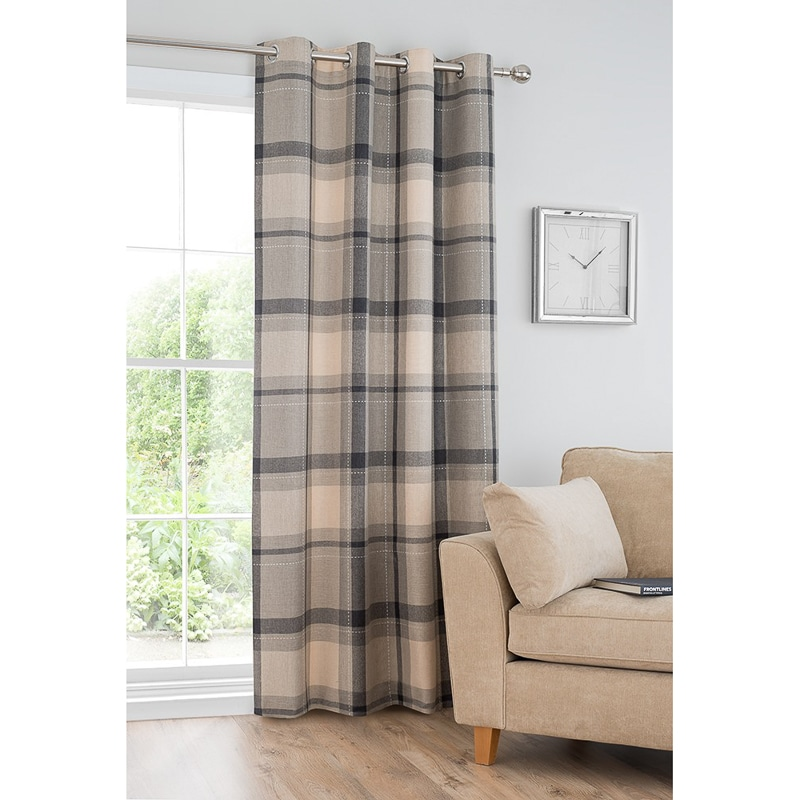 en grey l uk dove faux contents boulevard fully eyelet lined curtains curtain silk