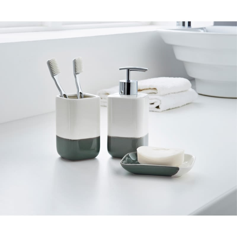 Dipped Coloured Bathroom Set 3pc