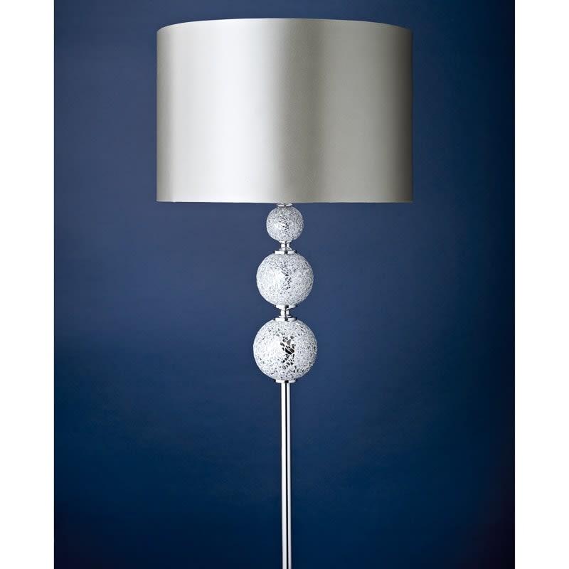 Ella mosaic floor lamp lighting home bm for Floor lamp mosaic wood