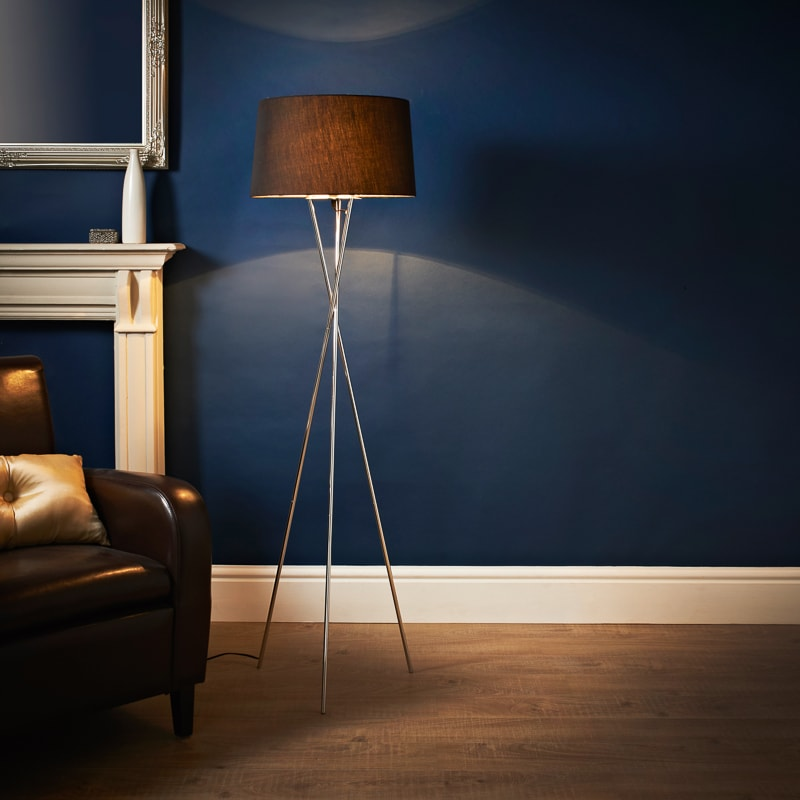 Tripod Floor Lamp Lighting Home B Amp M