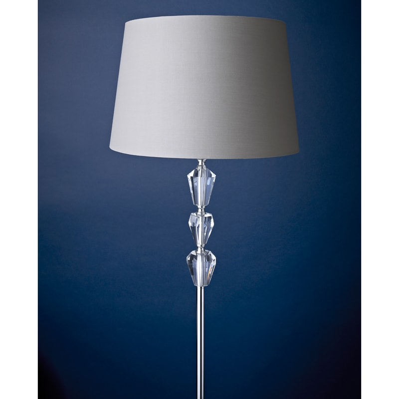 Amelie crystal floor lamp lighting home bm 323349 amelie crystal floor lamp grey close up aloadofball Image collections