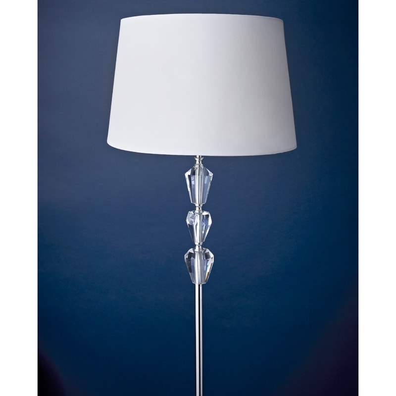 Amelie Crystal Floor Lamp Lighting Home B Amp M