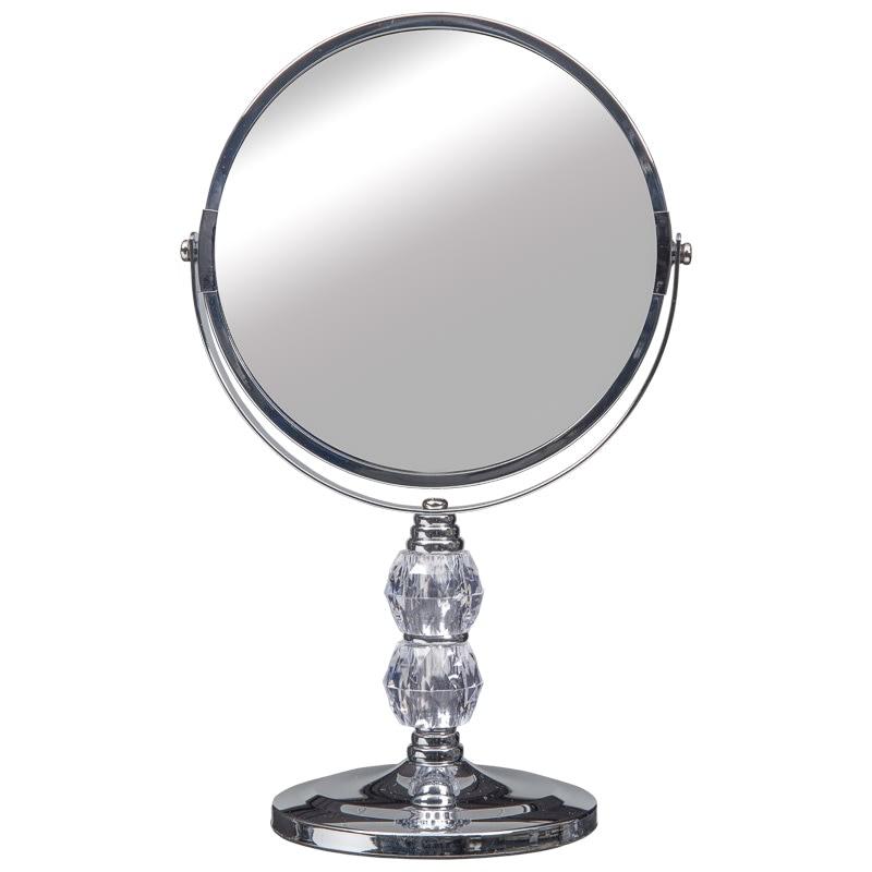 Crystal Two Sided Swivel Mirror Bathroom Accessories B M
