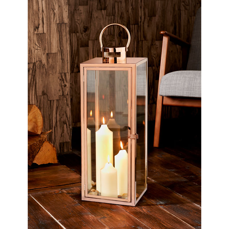 Copper Lantern Home Home Decor B Amp M