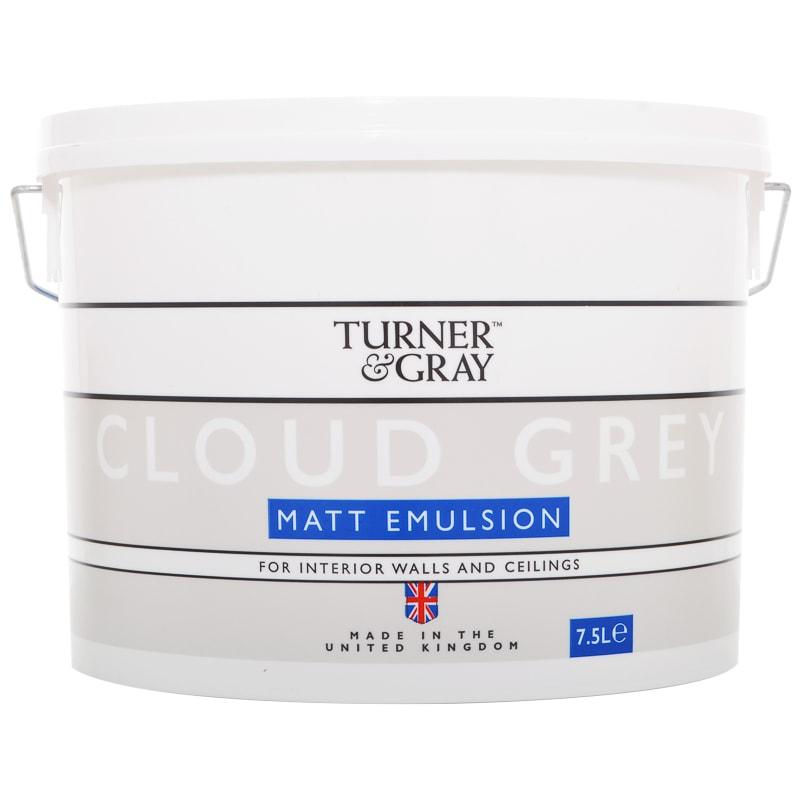Turner Amp Gray Matt Emulsion Paint 7 5l Skyline Paint B Amp M