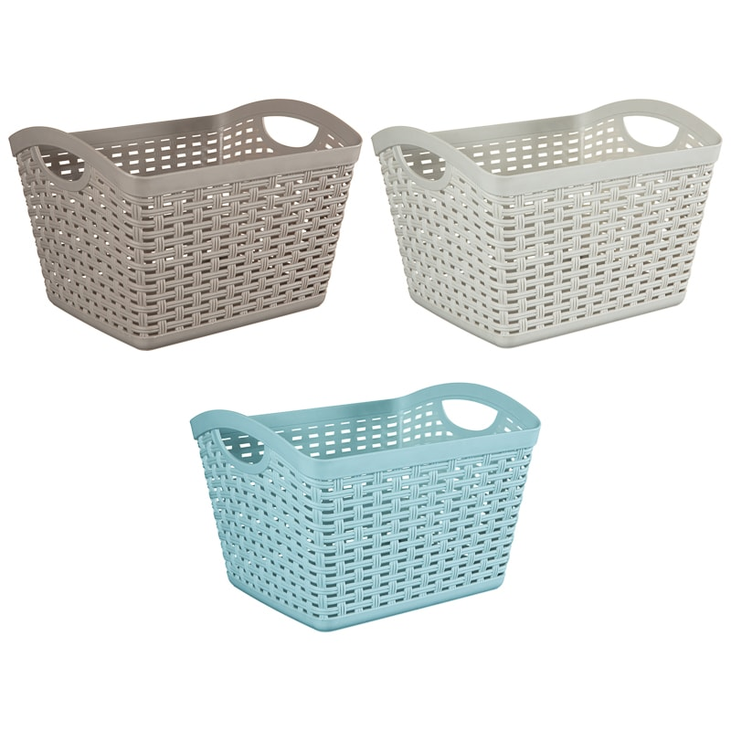 Malay Storage Hamper - Blue