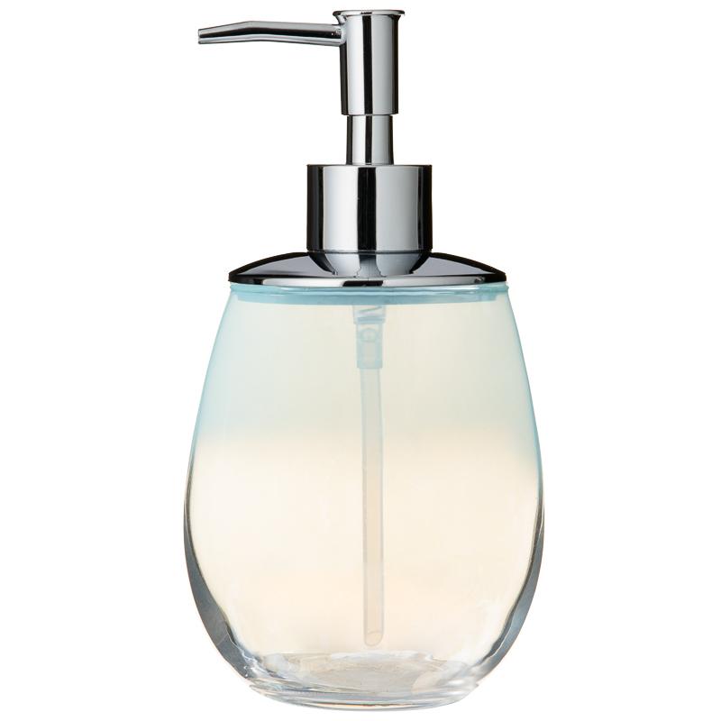 Coloured Glass Soap Dispenser