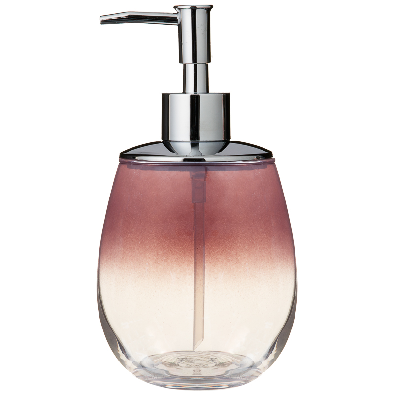 Coloured Glass Soap Dispenser