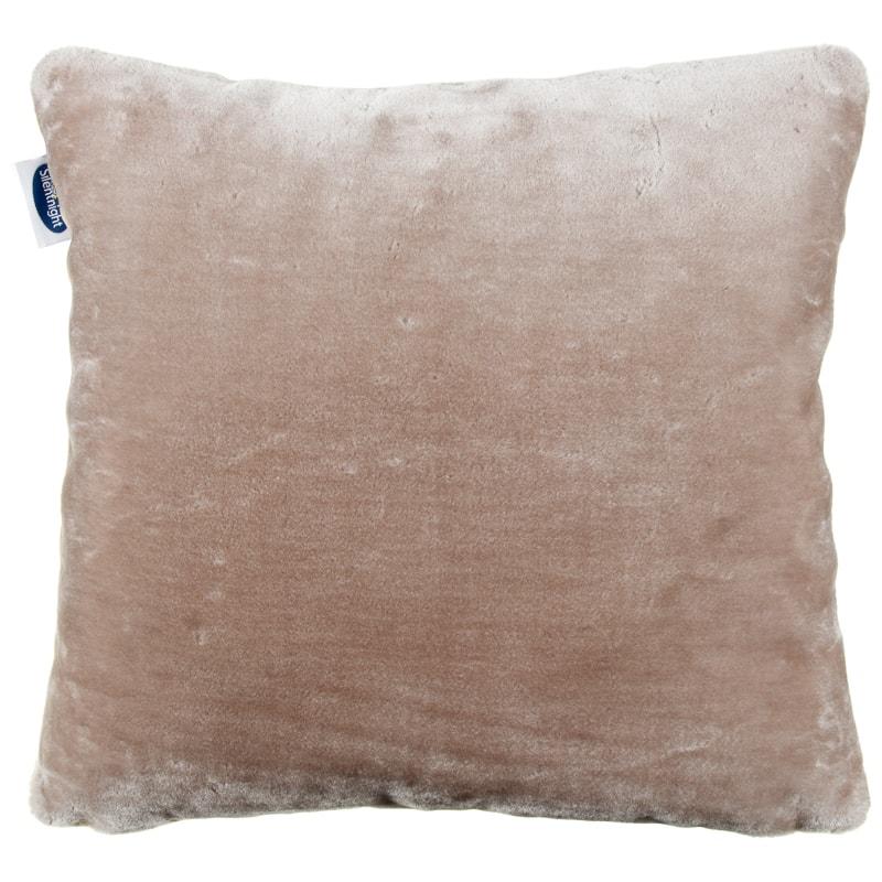 silentnight faux fur cushion home decor b m stores. Black Bedroom Furniture Sets. Home Design Ideas