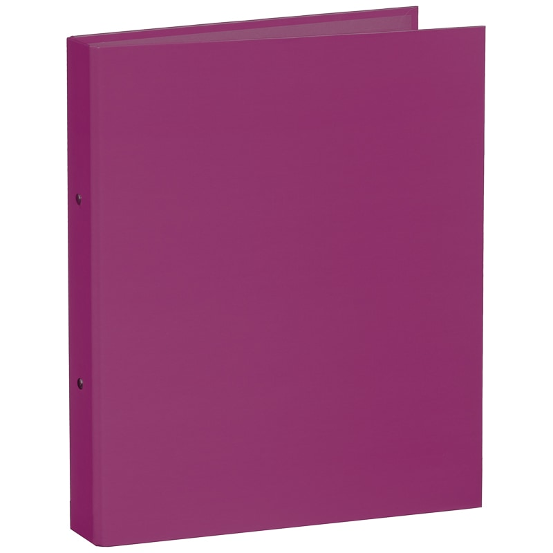A4 Ring Binder File Purple Stationery Filing B Amp M