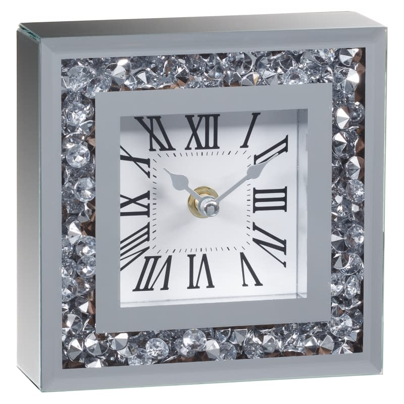 Karina Bailey Loose Diamond Mantle Clock