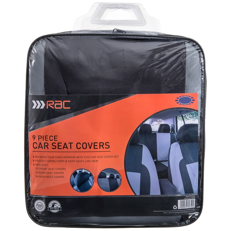 Groovy Rac Car Seat Covers 9Pk Pabps2019 Chair Design Images Pabps2019Com