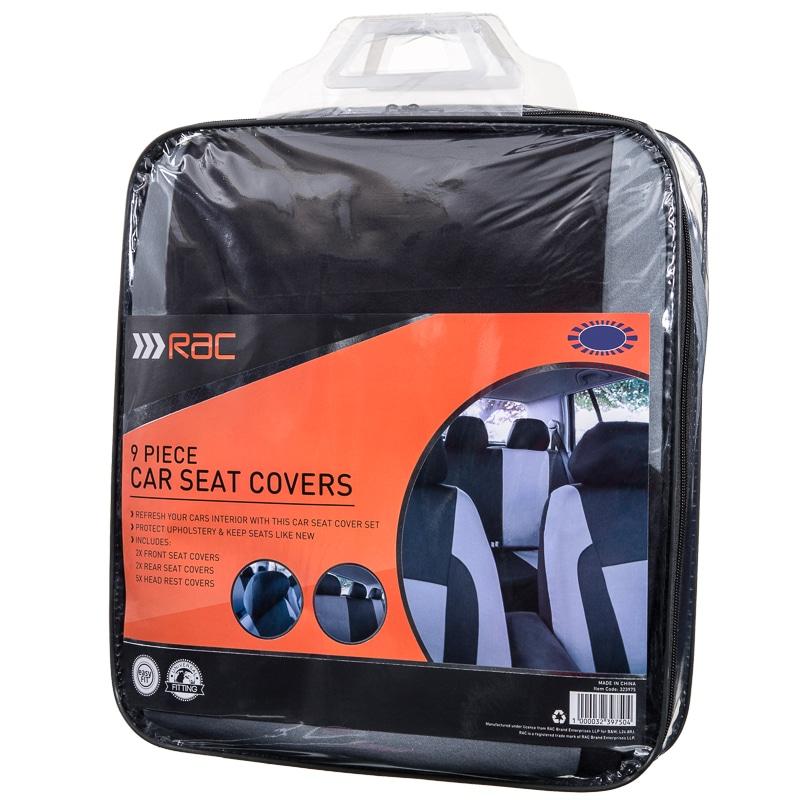 Rac Car Seat Covers 9pk Car Accessories Car Seat Cover