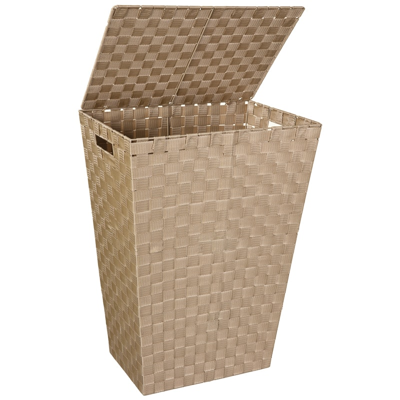 Woven Laundry Hamper - Natural