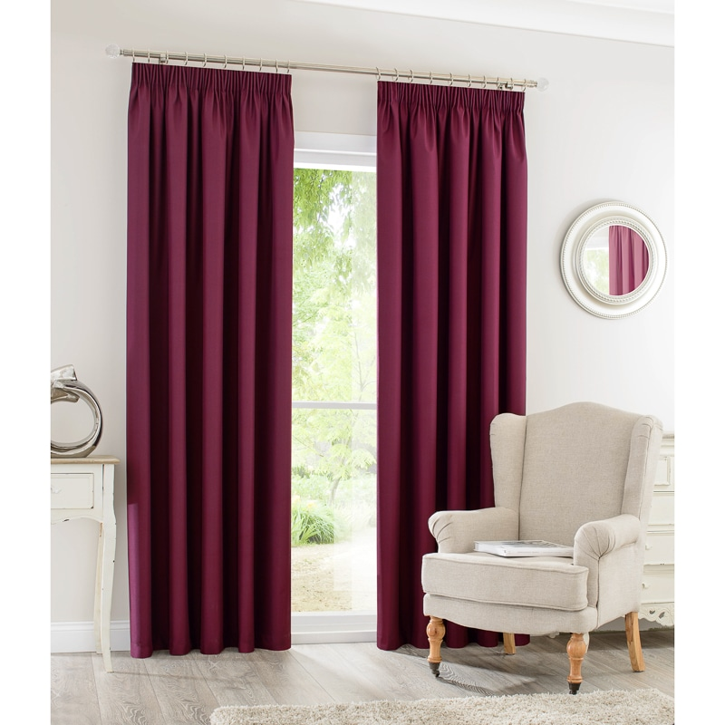 Silent Night Blackout Curtains 90 X 90 Quot Home B Amp M
