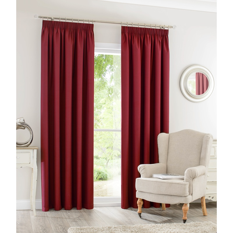 Silent Night Blackout Curtains 46 X 72 Quot Home B Amp M