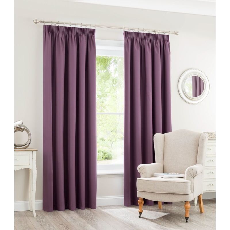 Silent Night Blackout Curtains - 66 x 90""
