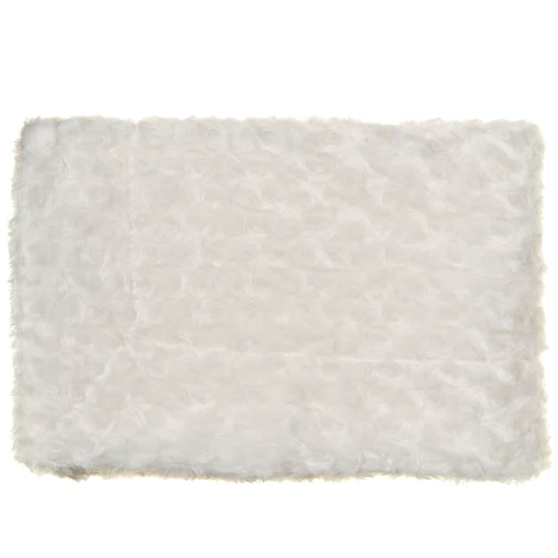 Silentnight Rosebud Baby Blanket - Cream