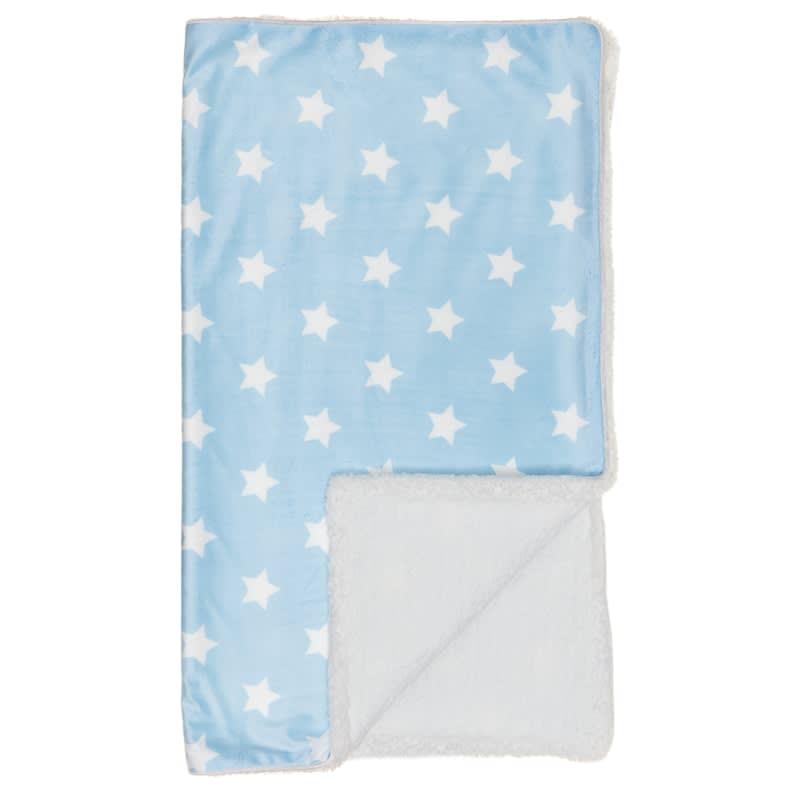 7101073bf Silentnight Sherpa Baby Blanket