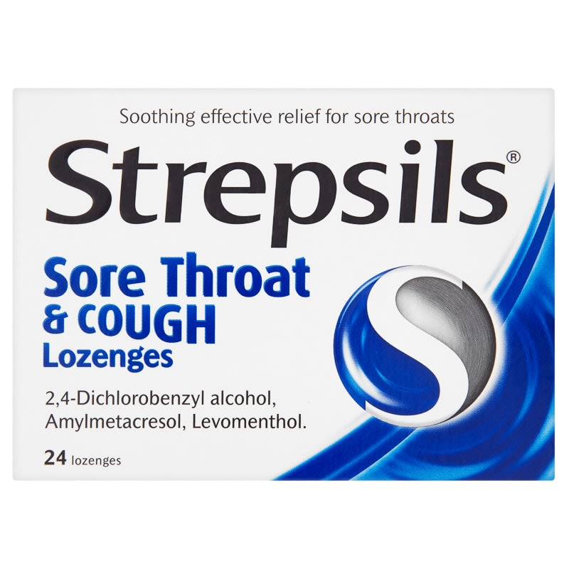 Strepsils Sore Throat & Cough Lozenges 24pk